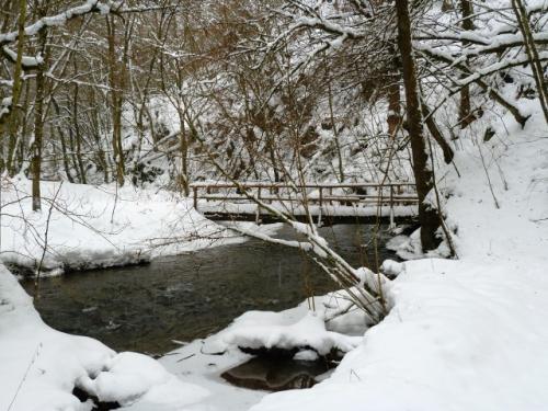 Brücke an der Schanzley